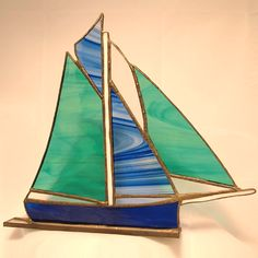 Deborah Martin - Big Boat Stained Glass - St Ives Arts and Crafts from Cornwall