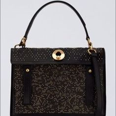 Yves Saint Laurent Handbags - YSL Muse Two Rock Studded Leather & Suede Tote NWT