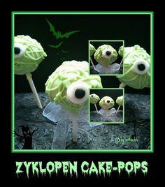 'Zyklopen Cake-Pops'