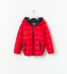 PADDED JACKET WITH ZIP from Zara