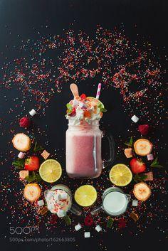 Styled stock photos Pic: Milkshake Vignette