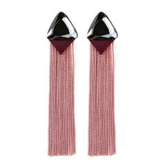 CIRQUE stud fringe earrings