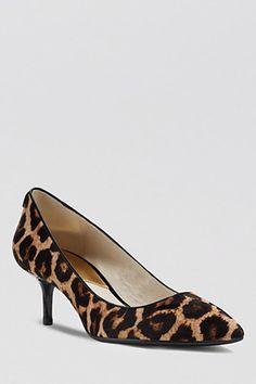 11 Low-Lying Heels That'll Take Your Style Sky-High #refinery29  http://www.refinery29.com/kitten-heels#slide9