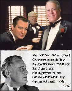 Violation after violation of pollution regulations have been prosecuted against KOCH and the Koch solution is to invest in political hacks like Ted Cruz. Ted Cruz is now an avid climate change denier and wants to change pollution regulation laws. The republicans put Ted Cruz in charge of the science committee in the senate. Amazing what money can buy.
