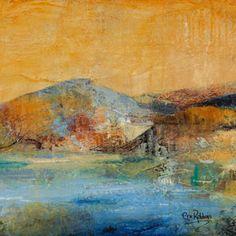 """Ode to Tahoe III"" by Erin Robbins - acrylic on panel"