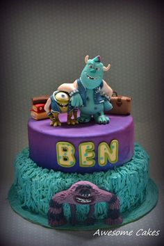 Monsters University cake