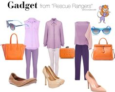 """Gadget from """"rescue rangers"""""""