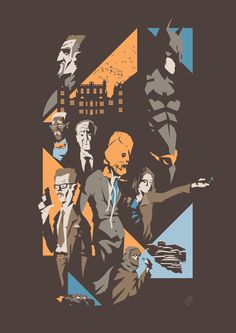 Awesome DARK KNIGHT Trilogy Poster Illustrations  - News - GeekTyrant