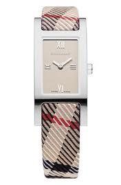 Burberry Plaid watch