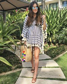 My Maui Babymoon-Blank Itinerary jadetribe.myshopi… My Maui Babymoon-Blank Itinerary jadetribe. Summer Maternity Fashion, Cute Maternity Outfits, Stylish Maternity, Pregnancy Outfits, Mom Outfits, Maternity Wear, Maternity Dresses, Summer Outfits, Fashion Outfits