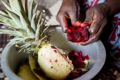 You have to get your hands dirty to enjoy delicious food! (Photo credit: Esther Havens) Delicious Food, Photo Credit, Hands, Vegetables, Yummy Food, Vegetable Recipes, Veggies