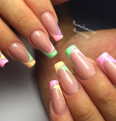39 - We continue to offer 2019 nail designs to your appreciation - 1 Races continue in nail designs and creativity. Acrylic Nail Shapes, Cute Acrylic Nails, Acrylic Nail Designs, Nail Art Designs, Nails Design, Fancy Nails, Cute Nails, Pretty Nails, Summer Gel Nails