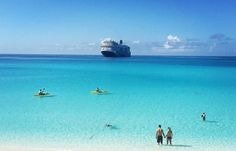 Half Moon Cay - Our very own private island, set aside just for you. Here, a magnificent two-mile crescent of silky, white sand rimmed in blue invites you to a day of play like no other…swimming, sailing, riding horseback through the surf.