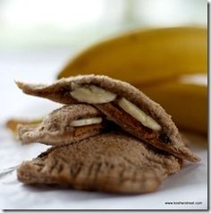 Lunch/Snack Banana Pockets- Great for the kiddos!