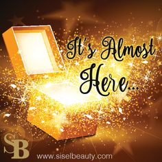 It's Almost Here....  Can you guess what it is?   #siselbeauty #sisel #gift #holidaygift #cosmetics #beauty