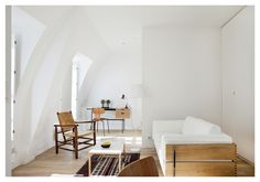 The Perfect Two-Room Paris Pied-à-Terre, Ikea Kitchen Included: Remodelista