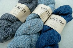 brooklyn tweed - shelter:  soot + faded quilt + almanac