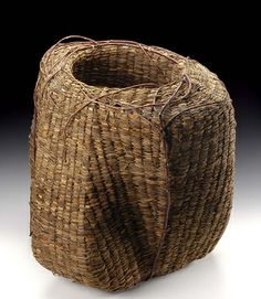 Untitled by John McQueen / American Art  #basketry #vessel textiles #textileart  #textile_art  #textileartscouncil #textile_arts_council #tac