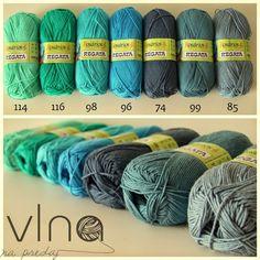 VlnaNaPredaj: Regata - 100% bavlna, 100g 275m - náš miláčik