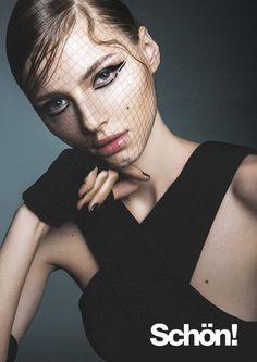 Playful Goth Editorials : Maja Brodin