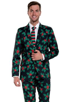 Mens Christmas Suit Snowman is an Island Blazer+Tie and Pants Sold Separately