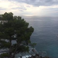 Kurz vor dem #Sonnenuntergang an der #Küste von #Cinqueterre in #Ligurien #Italien