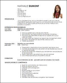 CV auxiliaire de Puericulture N°26544 Exemple de CV ...