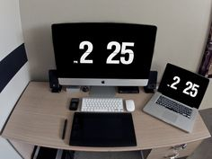 Apple Geek Workspace.