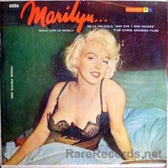 An album of songs from Marilyn Monroe's films, released in Uruguay in the early 1960s. #records #albums #vinyl #LP