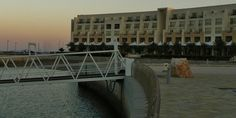 The Millennium hotel at A'Mussanah, where we lived for 7 months, Oman, 2012.