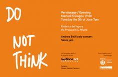 Do Not Think presso La Fabbrica del Vapore: una serie di eventi dedicati alla cultura urbana, alla street art e allo skateboarding!