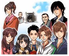 Shinkenger in Anime form