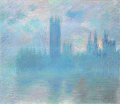 Claude Monet, Houses of Parliament, London, 1901, oil on canvas