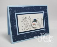 Stampin' Up! Christmas Card Idea #13-Big on Christmas | Josee Smuck-Stampin' Up! Canada Demonstrator