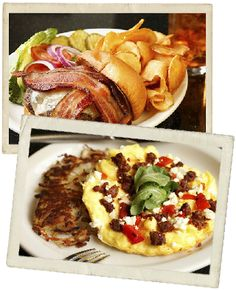 Crossroads Diner - down-home affordable menu with solid results. Try the silky corned beef hash, bacon cheeseburger with housemade chips, sticky buns, fluffy pancakes, and frittatas with Mozzarella Company goat cheese.