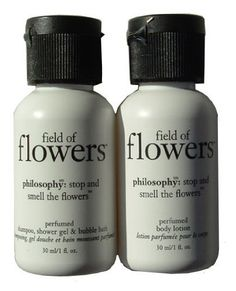 Philosophy Field of Flowers Travel Size Shampoo and Body Lotion 1fl. oz Each by Philosophy. $6.50