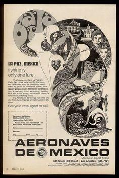 Aeronaves de Mexico ad 1969