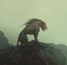 Jade Dragon by Tyler Smith on ArtStation.