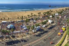 Surf City USA Marathon  http://www.runnersworld.com/bucket-list-races/bucket-list-10-fun-marathons/surf-city-usa-marathon