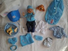 Baby Born Miniworld Junge mit Zubehör *komplett*
