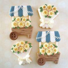 Fantastic Flower Bouquet Cookies
