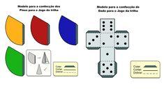 Modelo confecção de Dados e pinos para o jogo | Acervo Digital EADTEC