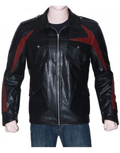 69b533dfd5830 James Heller Prototype 2 Black leather jacket Custom Leather Jackets