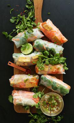 foodiebliss:  Banh Mi Spring RollsSource: Minimalist Baker
