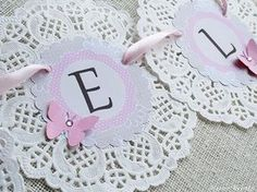 Simply click the link for more information on shabby chic farmhouse Doilies Crafts, Paper Doilies, Diy And Crafts, Paper Crafts, Ideias Diy, Baby Birthday, Paper Flowers, First Birthdays, Tea Party
