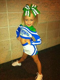 little cheer girls are always the cutest