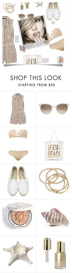 """""""Mean Girls, Mark Waters (2004)"""" by agla83 ❤ liked on Polyvore featuring Marc by Marc Jacobs, Chopard, Marysia Swim, Nasty Gal, Whiteley, Manebí, ABS by Allen Schwartz, Chantecaille, Judith Leiber and Stila"""