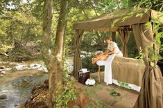 Sedona on our Best American Small Towns list for many reasons, and The Spa at L'Auberge de Sedona is one