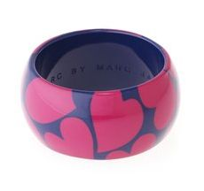 Marc by Marc Jacobs Heart Bangle