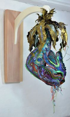 textile artists natural forms - Google Search